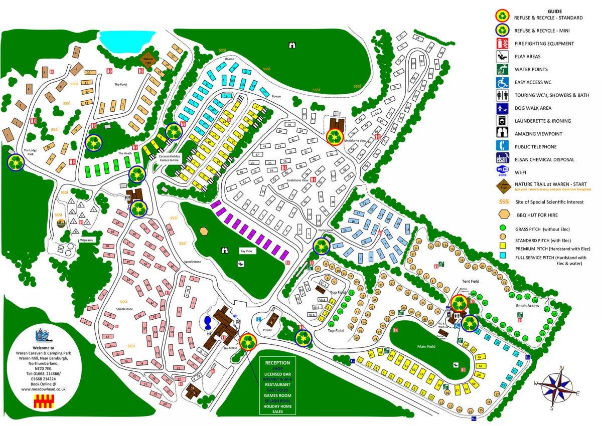 Visitor Information - Waren - Meadowhead Caravan & Camping Parks